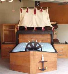Pirate bed...love it!!!