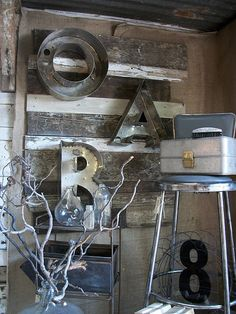 this girl loves her steel.............great booth ideas!!