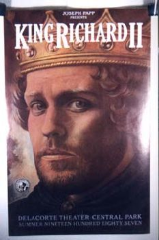 I remember this Richard II, with Peter MacNicol, very well; mostly because of his pronounced Southern accent.