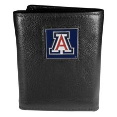 Arizona Wildcats Trifold Wallet, Black