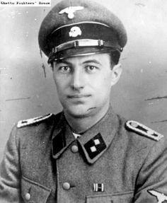 Maj Karl Plagge. Saved over 1,000 men, women, and children from an SS pogrom in Vilnius.: