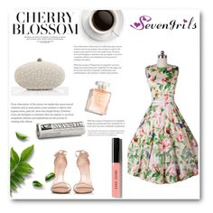 """""""SevenGrils 4"""" by miincee ❤ liked on Polyvore featuring Stuart Weitzman, Bobbi Brown Cosmetics and vintage"""