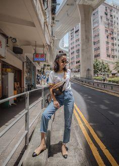 Jenny Tsang of Tsangtastic wearing Louis Vuitton bumbag styling belt bag in Hong Kong Travel Outfit Summer, Summer Outfits, Japan Summer Outfit, Womens Fashion Online, Latest Fashion For Women, Hiking Wear, Foto Instagram, Ootd Poses Instagram, Trendy Swimwear