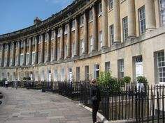 "Cheryl at the Royal Crescent in Bath.  "" I am pictured at the Royal Crescent in Bath, which is the setting of my last release, ""Love in the Library"".  Contest: $50 Gift Certicicate to the ebook retailer of your choice. Ends October 31, 1014,"