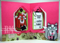 Raquel's Stampin' Blog: Karen Burniston January 2015 Designer Challenge -3 or more.....Calling Dr. Love
