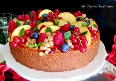 Cheesecake ai frutti di bosco e pesca | Peperoni verdi fritti