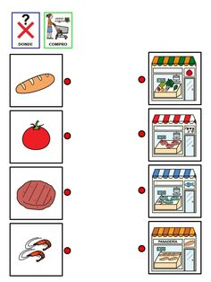 donde compro cada producto by Nieves Lopez Pons via slideshare Learning Through Play, Kids Learning, Spanish Worksheets, File Folder Games, Love My Job, Speech And Language, Speech Therapy, Special Education, Preschool Activities