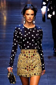 Dolce & Gabbana Fashion Show & More Luxury Details