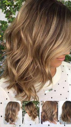 Cute Medium Length Hairstyles, Winter Hairstyles, Light Brown Hair, Blonde Hair, Hair Cuts, Hair Color, Hair Beauty, Long Hair Styles, Colour
