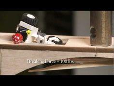 Bridge Design (and Destruction!) Part 1 Awesome video to explain the basics of bridge structure to kids.