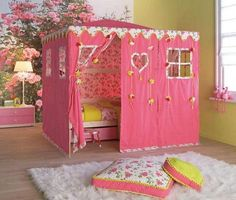 So pretty for a little girls room.