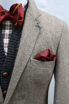 Mens Vintage Wool Tweed Sport Coat by ViVifyVintage