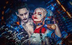 Filme Suicide Squad  Margot Robbie Harley Quinn Jared Leto Coringa Filme Papel de Parede