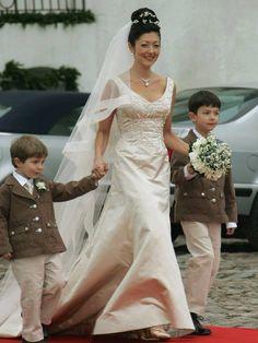 Alexandra Christina Gräfin von Frederiksborg heiratete 1995 Prinz Joachim von Dänemark. Die Ehe hielt nur zehn Jahre.