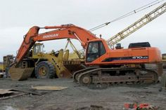Click On The Above Picture To Download Doosan Daewoo Solar 470LC-V Excavator Parts Manual