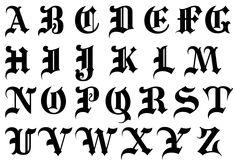 Font Lettering Alphabet Letters Font by 8 Letters Font Images Graffiti Alphabet Gotisches Alphabet, Gothic Alphabet, Calligraphy Letters Alphabet, Tattoo Fonts Alphabet, Graffiti Alphabet, Calligraphy Tattoo Fonts, Tattoo Lettering Styles, Script Typeface, Cursive Fonts