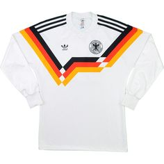 1990-92 West Germany Home L S Shirt (Very Good) S - Classic Retro Vintage  Football Shirts e4492eaf8