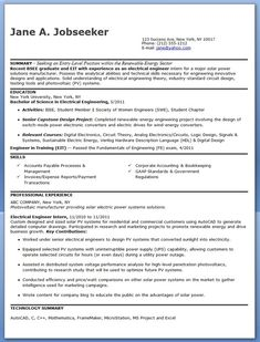 10 Best Best Electrical Engineer Resume Templates Samples Images