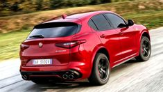 The Alfa Romeo Stelvio Quadrifoglio is classified as a SUV. However, there comes a point when such a simple term isn't enough for labeling such a car. Alfa Romeo Quadrifoglio, Automobile, Alfa Alfa, Pretty Cars, Race Cars, Dream Cars, Porsche, Classic Cars, Racing