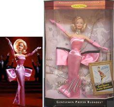 Gentlemen prefer Blondes doll | マリリン・モンロー・バービー