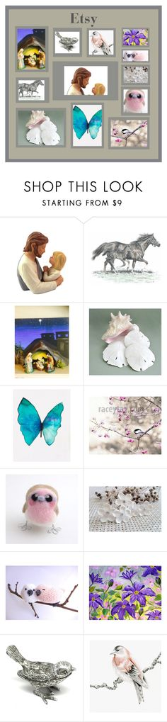 """""""God's Creations on Etsy"""" by brianna-anzalone ❤ liked on Polyvore featuring DCI, vintage, etsy, handmade, etsyevolution and DifferenceMakesUs"""