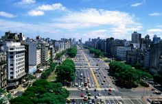 At almost 460 feet wide including side streets, 9 de Julio Avenue in Buenos Aires, Argentina is the widest street in the world.