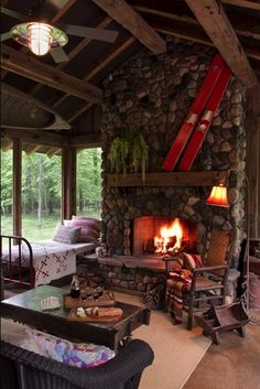 Nice, rustic and cozy!