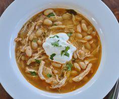 The Art of Comfort Baking: Crock Pot White Chicken Chili