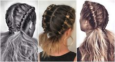 """""""#Pipe #braid"""" - #Boho #Hairstyle That Will Be A Favorite In The #Summer Days"""