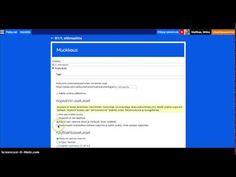 Sivujen tai kurssien kopioiminen Peda.netissä - YouTube