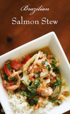 This looks good! Brazilian Salmon Stew (Moqueca) ~ Salmon stew based ...
