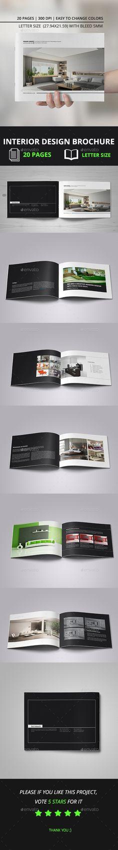 Interior Design Brochure Brochures, Brochure template and Interiors - interior design brochure template