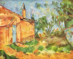 Jourdan's Cottage, 1906 - Paul Cezanne