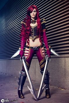 Katarina - High Command Cosplay by ~Spicy-Seasoning