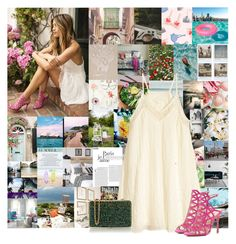 """""""A Dream Full Of Magic"""" by cheyenne-muter ❤ liked on Polyvore featuring Dolce&Gabbana, Chanel, Polaroid, H&M, Vince Camuto, Wilbur & Gussie, chic, summerstyle, simpledress and Dressunder50"""