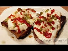 Avocado Toast, Baked Potato, French Toast, Sandwiches, Make It Yourself, Cooking, Breakfast, Ethnic Recipes, Youtube