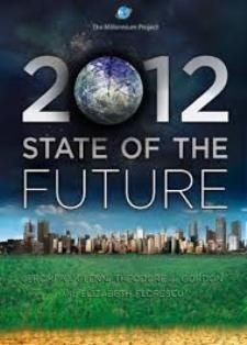 2012 State of the Future (PRINT VERSION)  http://www.millennium-project.org/millennium/SOF2012-Spanish.pdf The 2012 State of the Future is a concise, readable overview of the global situation, problems, solutions, and prospects for the future. It covers the global landscape with two-page overviews with regional considerations of 15 global challenges such as energy, food, science & technology, ethics and others.