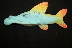 Fish With Attitude #FauxTaxidermy