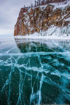 alexcheban: Путешествие сквозь лед Байкала