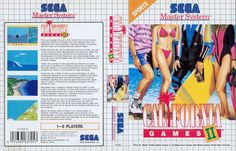 California Games 2 UE Master System