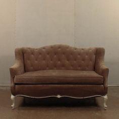Loot Vintage Rentals // Aubrey Settee