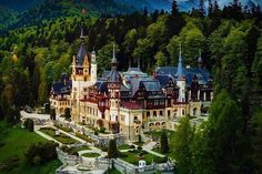 Peles Castle is in Sinaia, Romania Places To Travel, Places To Visit, Peles Castle, Carpathian Mountains, Bucharest, Old City, Romania, Old Things, Around The Worlds