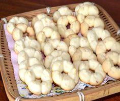 Os biscoitos caseiros são muito saborosos e mais saudáveis.