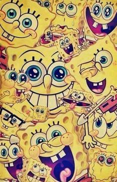 Spongebob Painting, Spongebob Drawings, Spongebob Iphone Wallpaper, Disney Phone Wallpaper, Cute Wallpaper Backgrounds, Funny Wallpapers, Nickelodeon Spongebob, Spongebob Patrick, 90s Cartoons