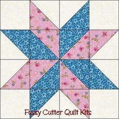 Free Easy Quilt Block Patterns |....HST !