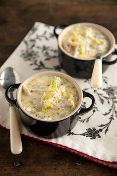 Paula Deen's Lemon Tarragon Chicken Soup