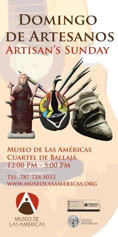 Primer Domingo de cada mes @ Museo del las Américas, Viejo San Juan.