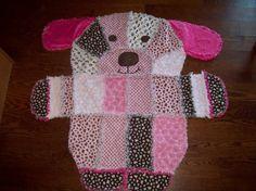 rag quilt animal shape
