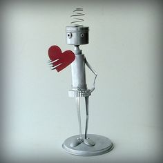 awww, I want one of these robots for Valentine's day. Aren't they awesome?