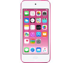 APPLE  iPod touch - 16 GB, 6th Generation, Pink, Pink Price: £ 179.00 The 6th generation 16 GB Apple iPod touch in pink is the ideal portable music and entertainment device. Load it up with your favourite songs and apps for more fun on the go. Perfectly portable music Carry your music collection in your pocket - the iTunes Store lets you download plenty of music to your iPod touch to enjoy...